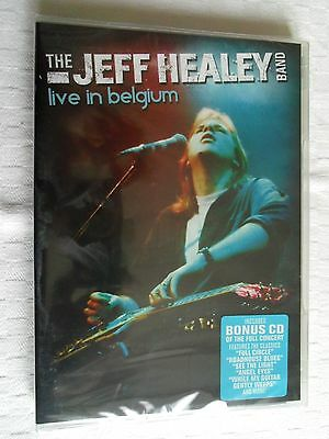 Dvd   Musical  The   Jeff Healey Band   Live In Belgium