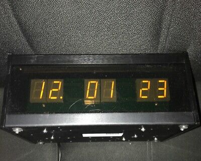 ESE ES-166U Slave Clock with ESE Code and SMPTE/EBU Code Inputs