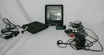 Vintage Sony Disc Man D-T66 With Cord Battery Headphones Portable CD Player