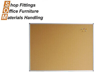 Corkboards Aluminium Frame Pins Included Office Display Board 900 - 2400Mm Wide
