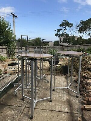 Heavy Duty Clothing Racks x4 Shop Fittings Excellent Condition
