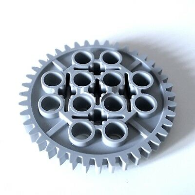 Gear 40 Tooth Light Bluish Gray 5 x LEGO Technic