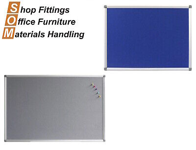 Pinboards Aluminium Frame Pins Included Office Display Board 900 - 2400Mm Wide G
