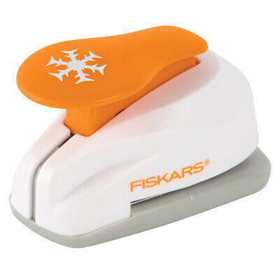 NEW Fiskars Snowflake Small Lever Punch By Spotlight