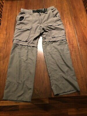 Boy Scouts Of America Convertible Pants Mens Size Medium Relaxed 34X32