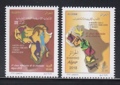 ALGERIA 3rd African Youth Games MNH set
