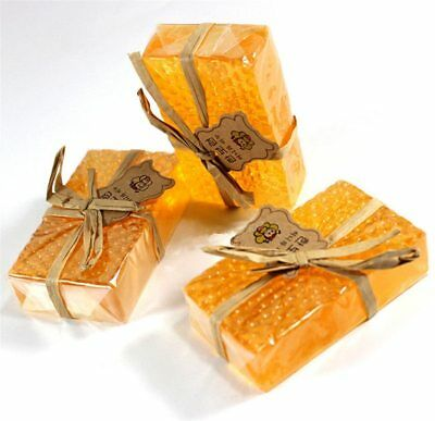 Natural Honey Soap Facial Whitening Handmade Bath Skin Anti-Aging Moisturizing