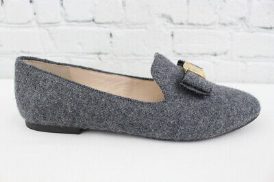 9f479f0e2bd COLE HAAN TALI Bow Loafer Womens Gray Flannel Flats Size 8B -  29.95 ...