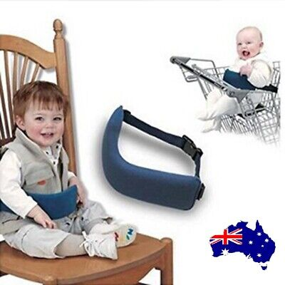 Portable Seat Kids Feeding Chair Child Infant Safety Belt booster Seat Harness