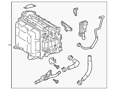 Ford Twin Motor Hybrid System Patent Image Circa Late January 2019