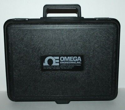 Omega Engineering Digital Anemometer Omega-Flo Model HHF-300A HHF300A w/ Case