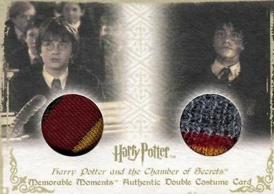 Harry Potter Memorable Moments Harry Potter Double Costume Card HP DC3 #143/360