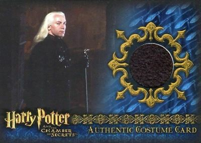 Harry Potter Chamber Secrets Malfoy's Overcloak Costume Card HP C8 #071/640