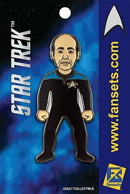 Star Trek The DOCTOR (EMH) Voyager Licensed FanSets MicroCrew Collector's Pin