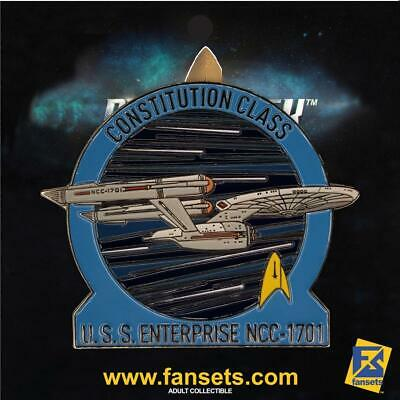 Star Trek MicroFleet USS ENTERPRISE 1701 DISCOVERY SERIES Licensed FanSets Colle
