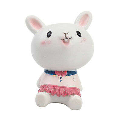 Lovely Simulation Rabbit Teacher Home Ornament Resin Deer Decoration