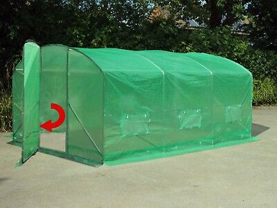4m x 3.5m Poly Tunnel Greenhouse Green House Polytunnel Pollytunnel Polly Tunnel