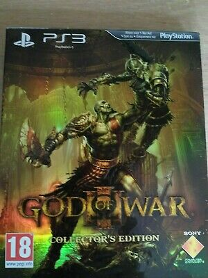God of War III Collectors Edition  - complete