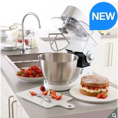 Kenwood Chef Premier Stand Mixer, 4.6L, White KMC515 Kenwood Chef Premier Stand