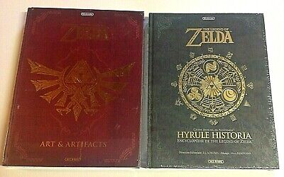 THE LEGEND OF ZELDA Art Artifact - Hyrule Historia Ed Soleil français Nintendo