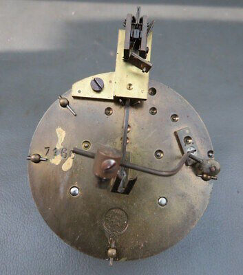 Vintage French A D Mougin clock movement for spares or repair