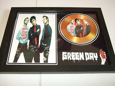 Green Day  Signed  Gold Cd  Disc 23