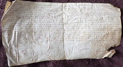 Early French Document Regarding Villagers Paying for a Road, 1640
