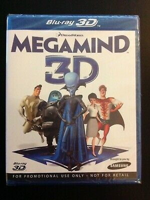 Megamind  Blu-Ray 3D Dvd