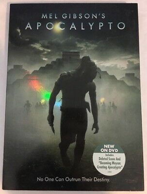 Apocalypto (DVD, 2007) NEW OOP Mel Gibson Factory Sealed w/ SLIPCOVER RARE R1
