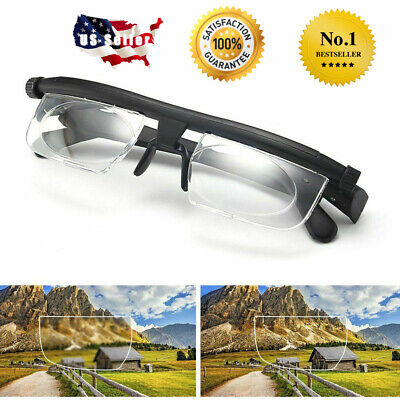 Adjustable Glasses Variable Focus for Reading Driving Distance Vision Eyeglasses