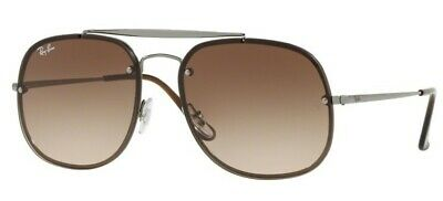 29698ab21d RAY BAN BLAZE General Brown Gradient Square Sunglasses RB3583N 004 ...