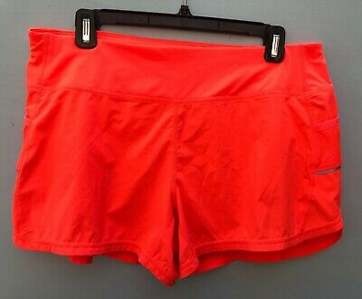 Nwot Athleta Bright Orange Ready Set Go Shorts Size Large Tracksuits & Sets Activewear