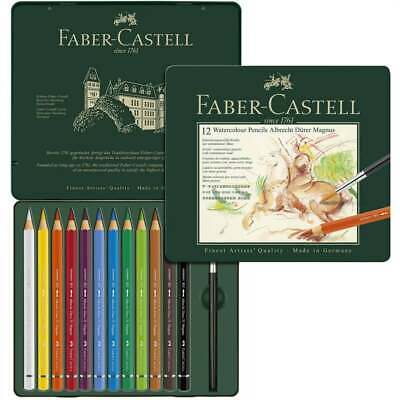 Faber-Castell - Albrecht Dürer Magnus Artists' Watercolour Pencils Tin of 12