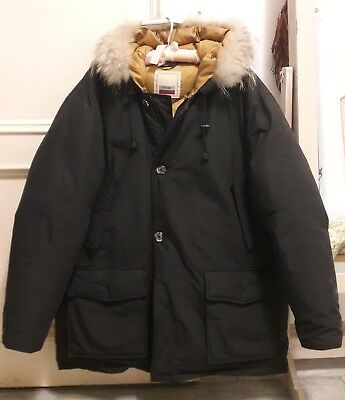 PIUMINO GIACCONE ARCTIC PARKA THINK GREEN the original tg L perfetto ... 88ec4abef5f