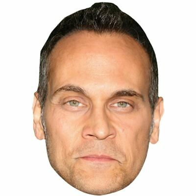 Todd Stashwick Big Head. Larger than life mask.