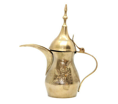 Vintage Islamic Dallah Coffee Pot Arabian Middle Eastern Arabic Bedouin Copper