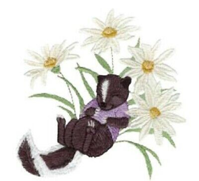 Mo Cuddly Garden Designs for Machine Embroidery - On a USB