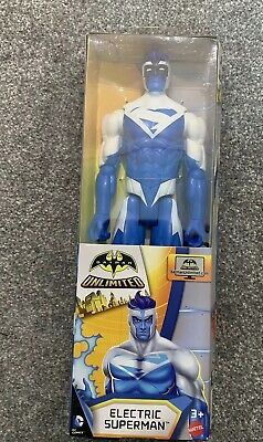 DC COMICS Batman Unlimited Large 12 Inch Figures Electric Superman UK