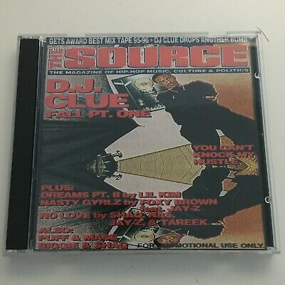 DJ Clue The Fall Pt.1 Mixtape 2 CD Double Disc Set NYC 90s Hip Hop Rap Mix