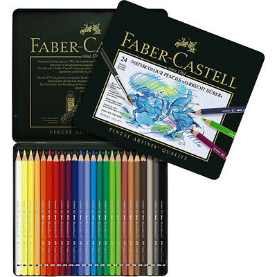 Faber-Castell - Tin of 24 Albrecht Durer Artists' Watercolour Pencils