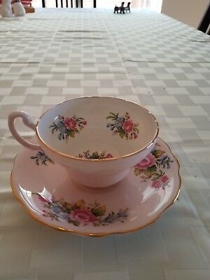 Foley Bone China Floral Tea cup and saucer
