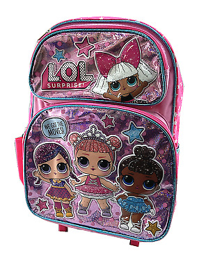 eda1177d0d6 BACKPACK - LOL Surprise - Large 16 Inch - White -  24.99