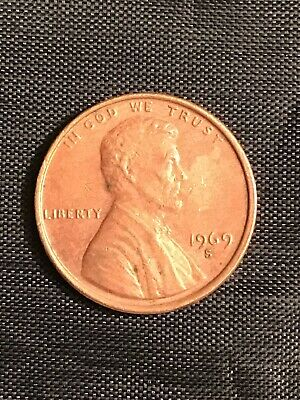 1969 S Lincoln Penny BU From Mint Roll - 20% off 5+