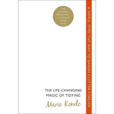 The Life-Changing Magic of Tidying Up by Marie Kondo (Free Shipping)