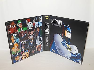 Custom Made Batman The Animated Series Trading Card Album Binder Graphics Only