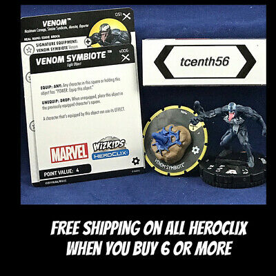 WizKids Marvel Heroclix Earth X 051 Venom Super Rare