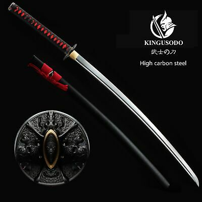 Japanese Handmade Sharp Tactical Steel Samurai Katana (No Custom Fee)