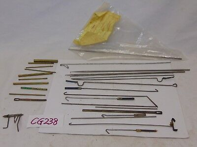 Vintage Clock Repair Replacement Part- Rods Lot Pendulums + More Mixed