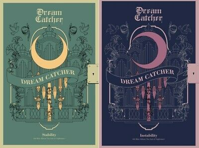 DREAMCATCHER 4th Mini album - [The End of Nightmare] 2Ver SET CD+P.Book+P.Card