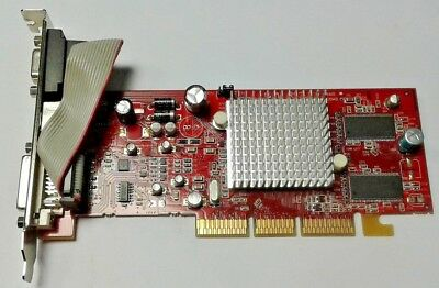 Placa Grafica PowerColor ATI Radeon 9550 128Mb DVI VGA S VIDEO TV AGP Graphic R9